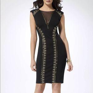 CACHE Black Studded Dress Size 10